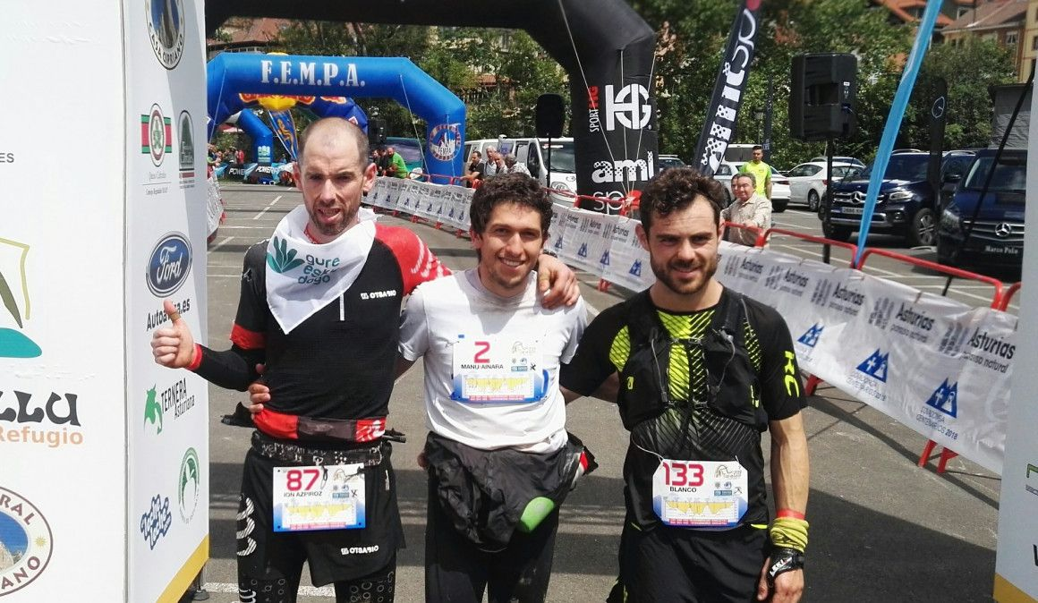 Aitziber Osinalde y Manuel Merillas alcanzan la gloria en Travesera