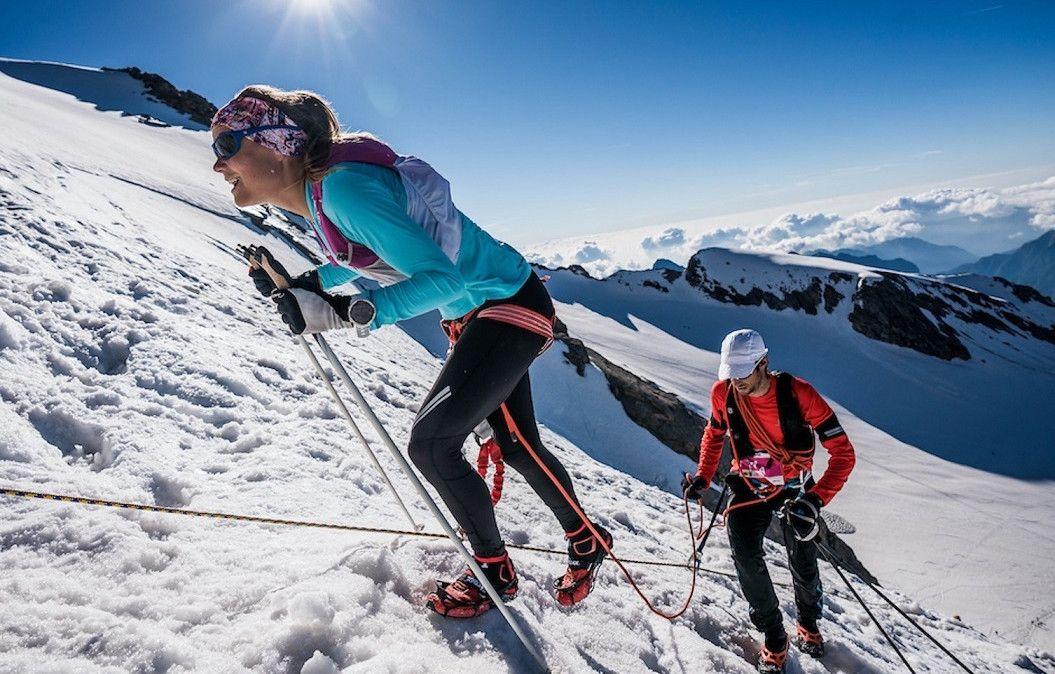 Kilian y Emelie, bronce por equipos en el Monte Rosa SkyMarathon
