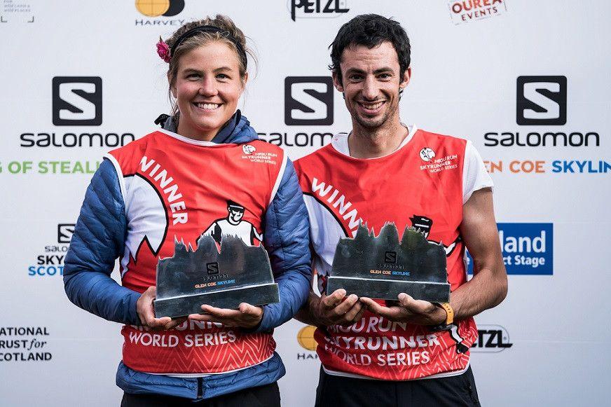 Kilian y Emelie correrán formando pareja en Monte Rosa SkyMarathon