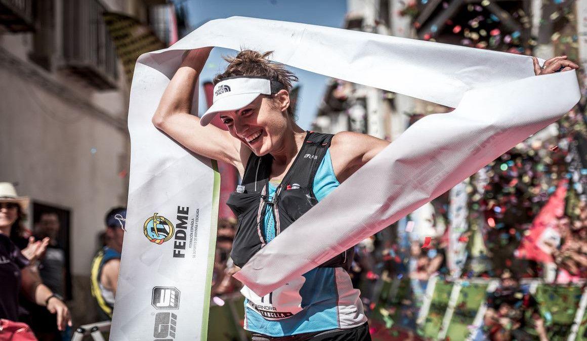 Sandra Sevillano y Mario Bonavista ganadores en la Cursa de Muntanya de Vistabella