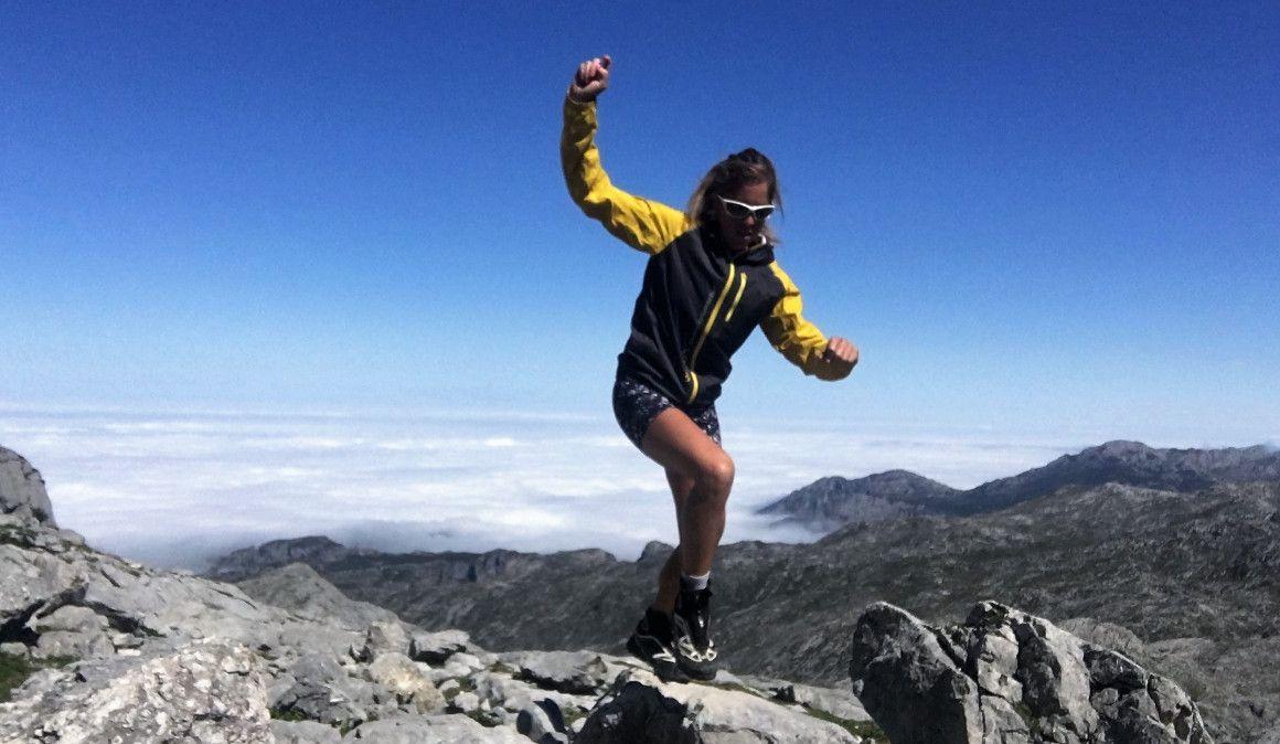 Sonia Regueiro reina en Picos de Europa conquistando el FKT del Anillo