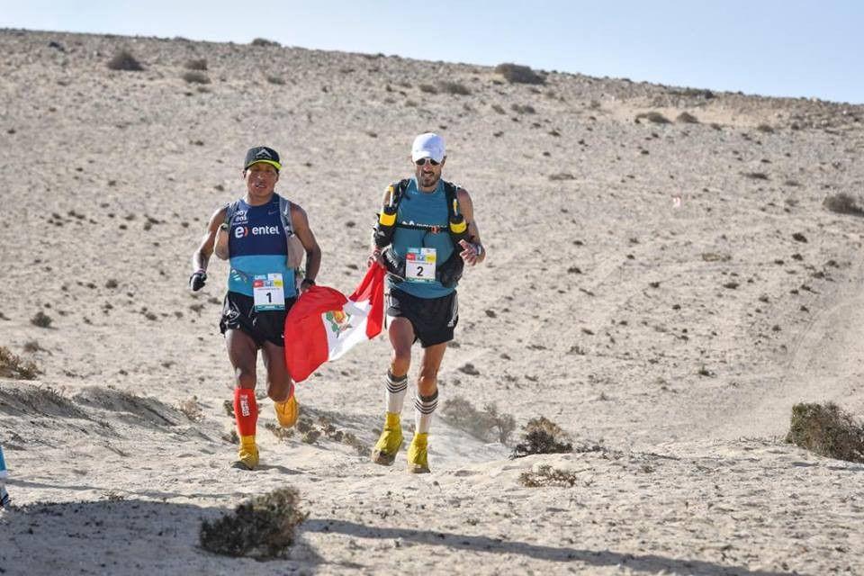 Chema Martínez y Remigio Huamán comparten victoria en la segunda etapa de Sables Fuerteventura