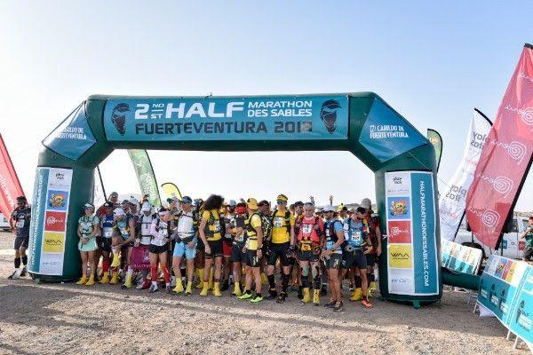 Finaliza la segunda edición del HALF MARATHON DES SABLES Fuerteventura