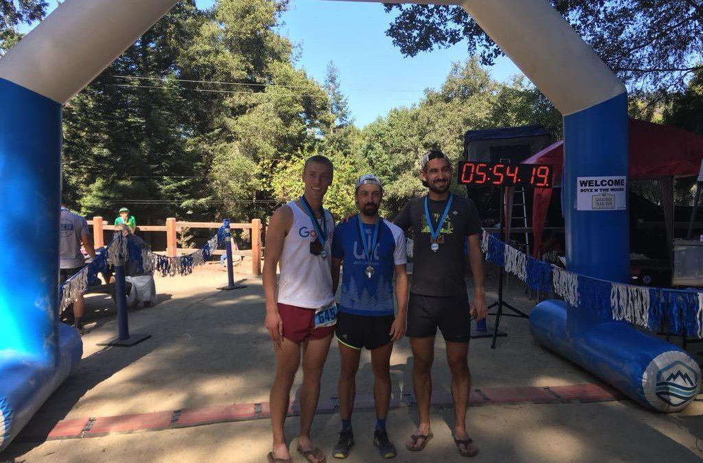 Gaspar Mora, segundo en Saratoga Trail Run