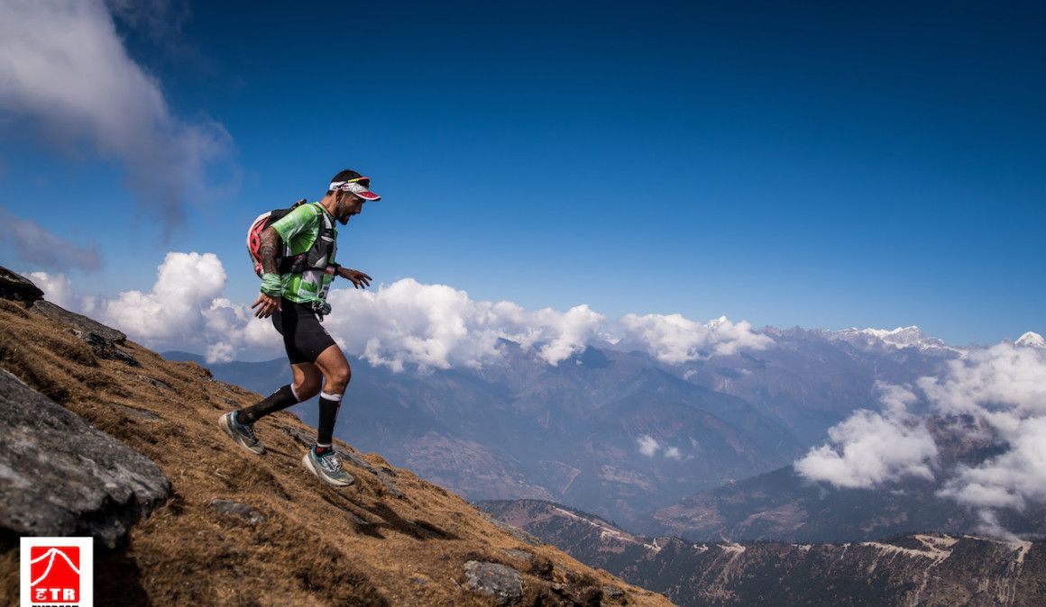 Gamito lidera con solvencia la Everest Trail Race