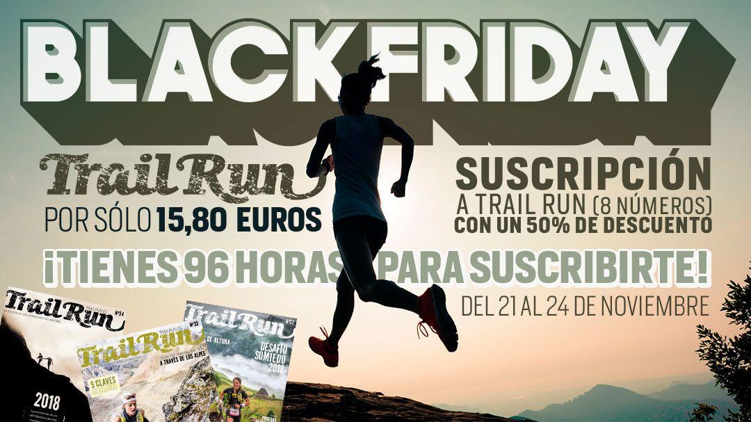 BlackFriday en TrailRun: suscripción de 8 números por solo 15,80€