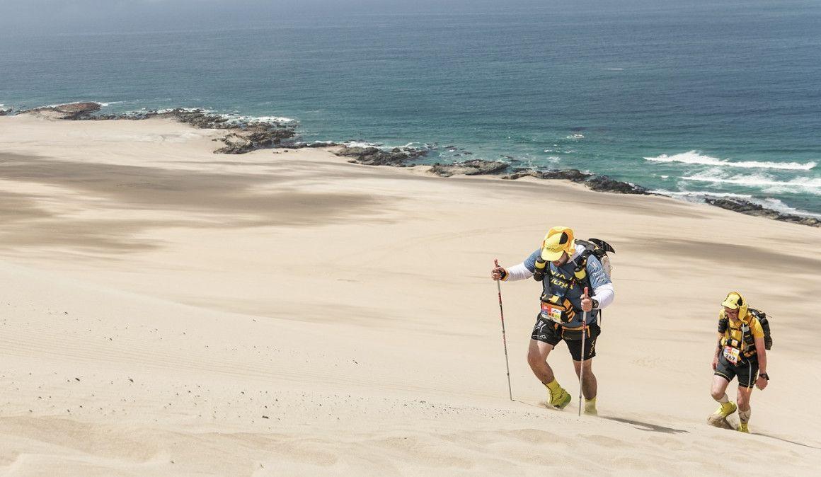 Yeray Durán, primer líder de la Half Marathon des Sables Perú