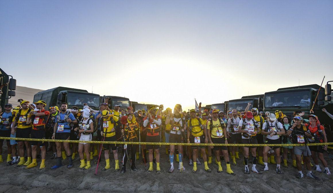 Yeray Durán domina a su antojo el Half Marathon des Sables Perú