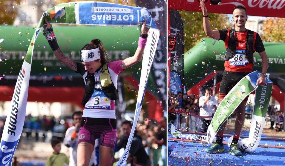 Albert Pujol y Azara García, nuevos campeones de España de Trail Running