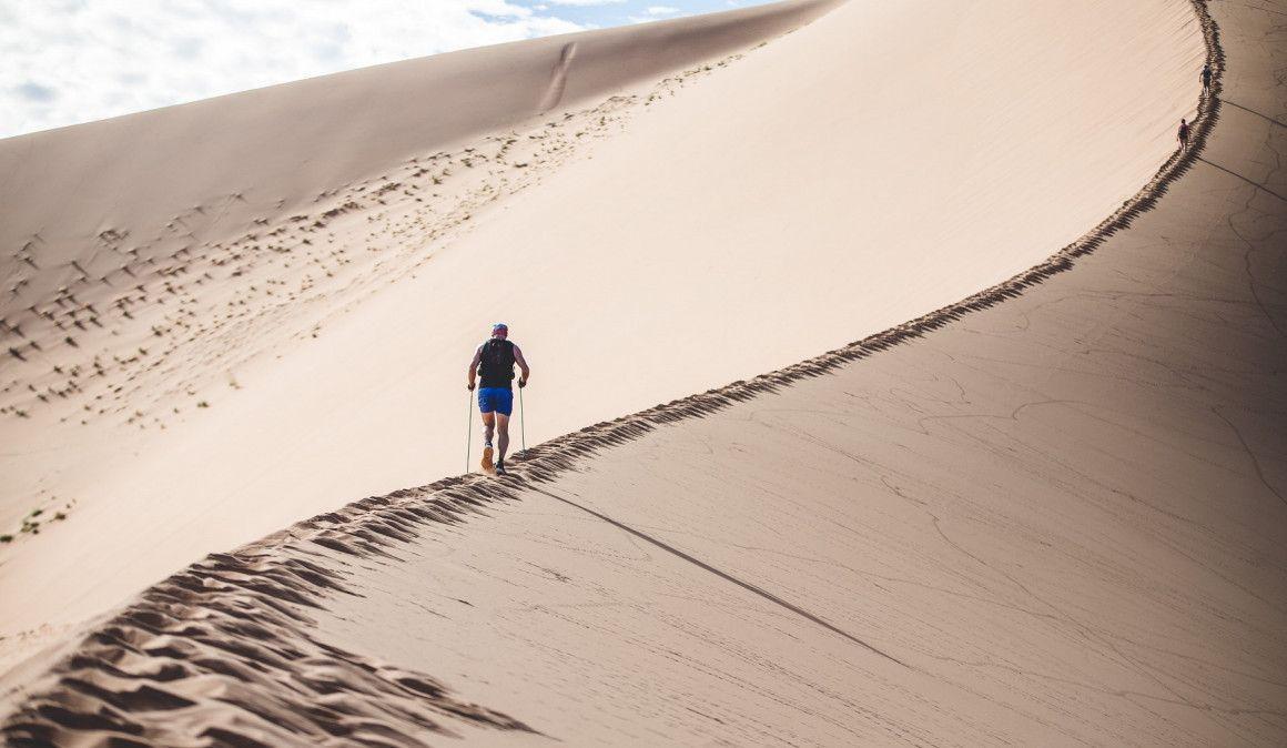 El español Iván Martínez, segundo en los 100 km de Namib Desert