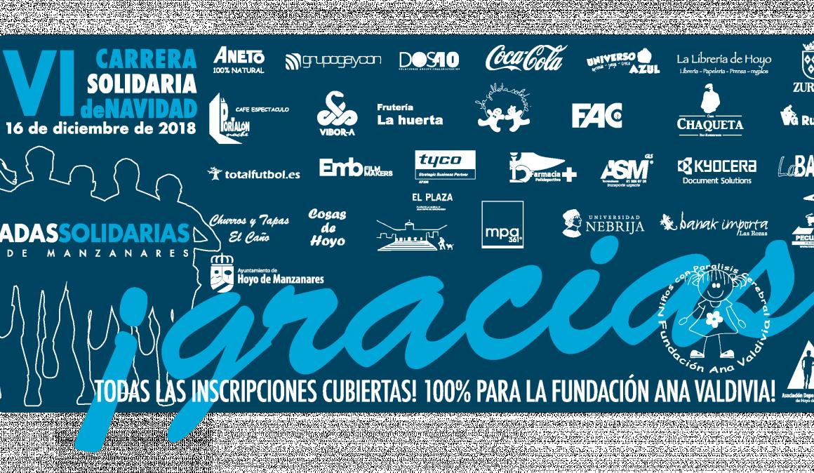 La VI edición de Zancadas Solidarias supera los 6.000€ de donativos