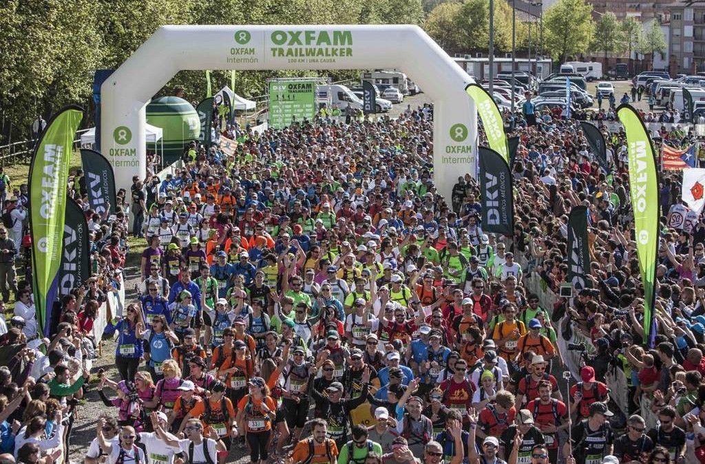 La recaudación del Oxfam Intermón Trailwalker ya supera los 100.000€