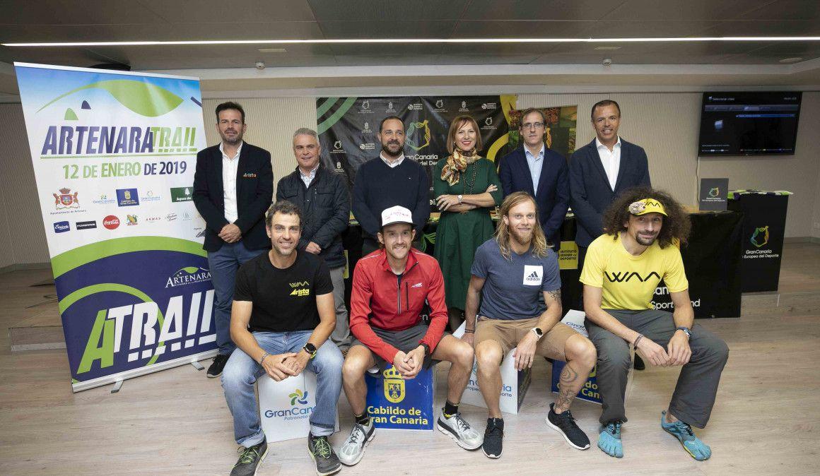Artenara Trail inicia la temporada de carreras por montaña en Canarias