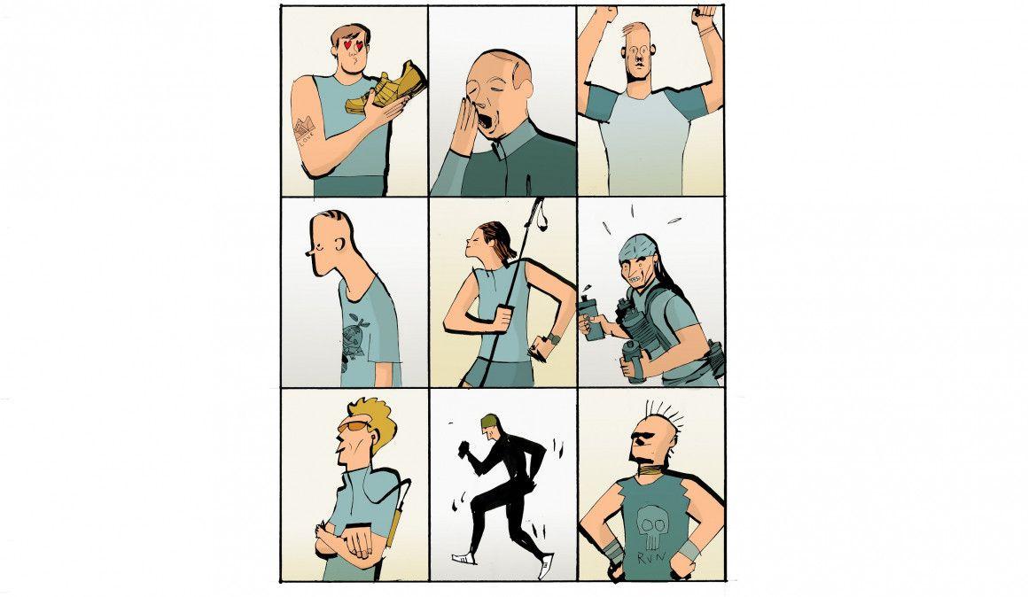 Los trailrunners, esos personajes... por Roberto Palomar