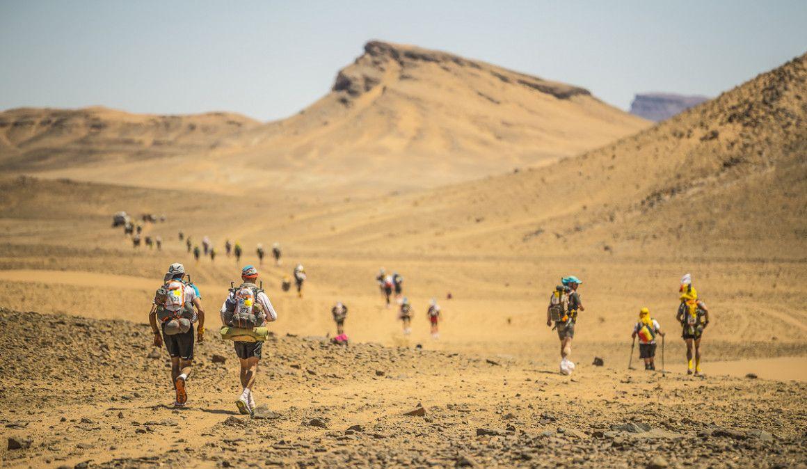 Dentro del Marathon des Sables