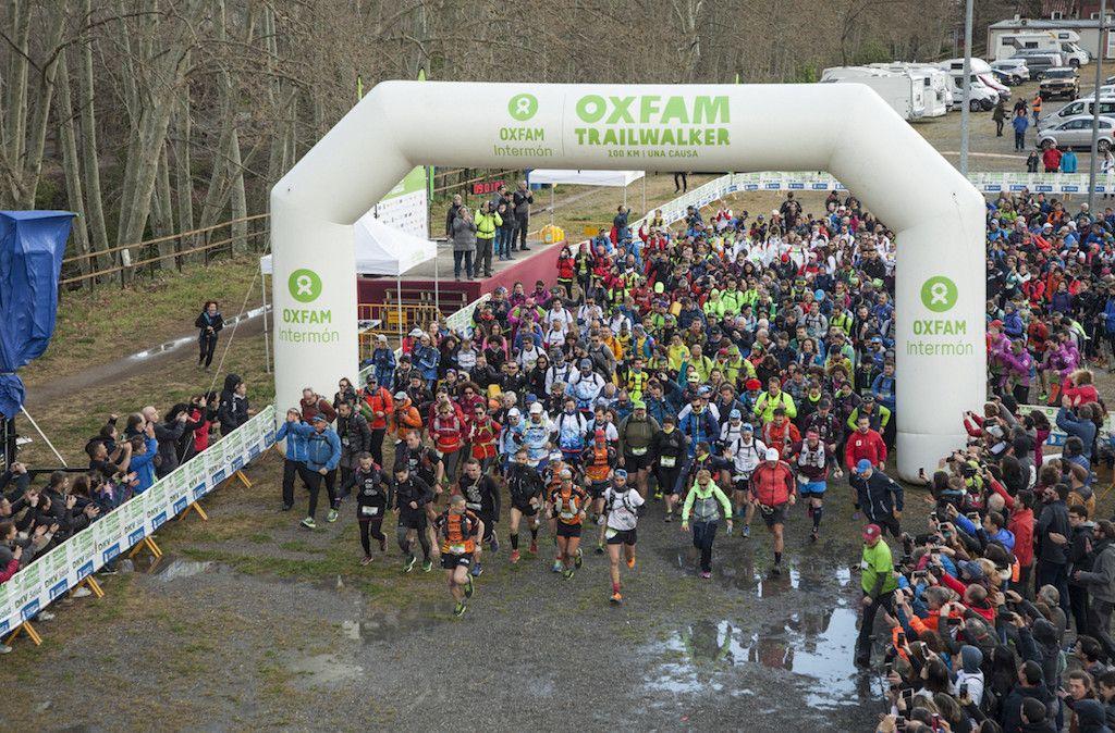 La Oxfam Intermón Trailwalker recauda medio millón de euros en Girona