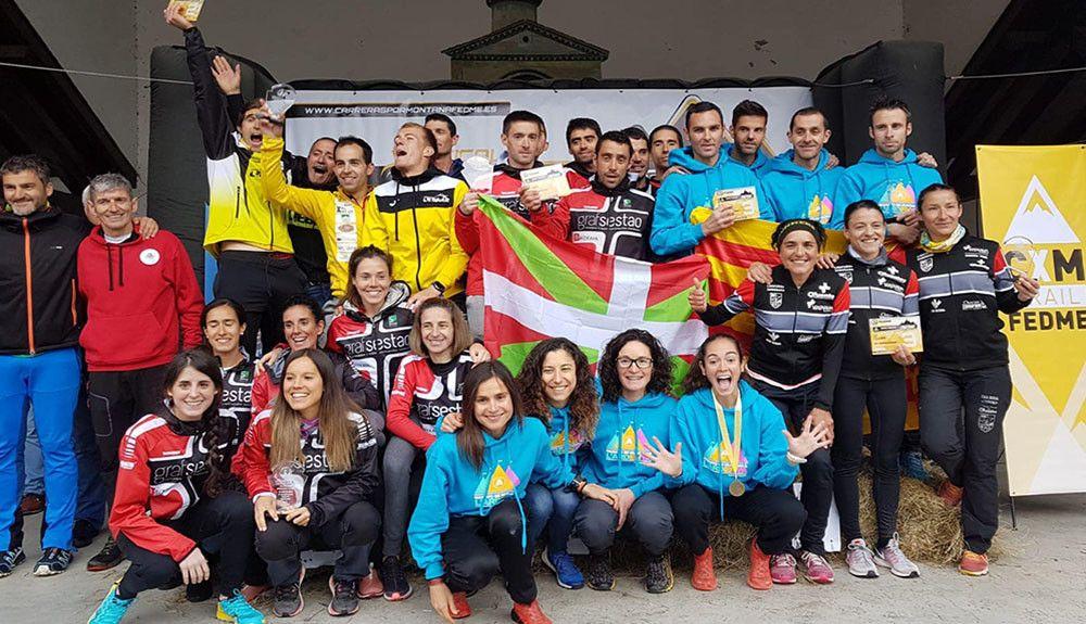 El Sestao Alpino-Grafsestao y el AE Matxacuca Campeones de España del Kilómetro Vertical por Clubes