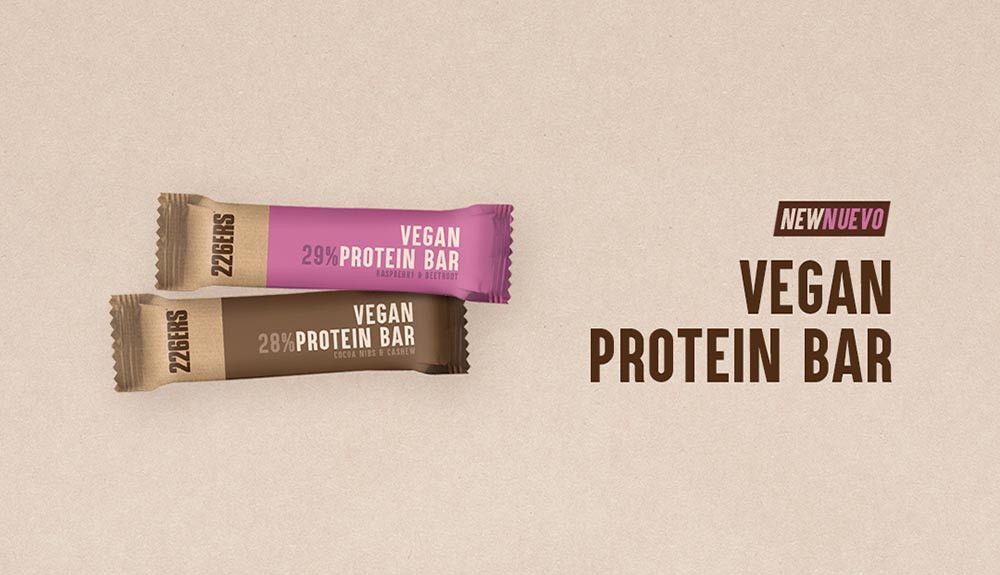 226ERS lanza su nueva gama de barritas proteicas veganas