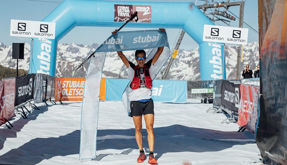 Cristofer Clemente brilla en Stubai Ultra Trail
