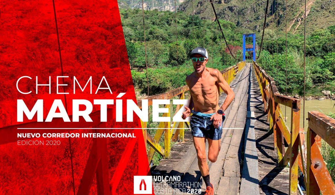Chema Martínez participará en la Volcano UltraMarathon 2020