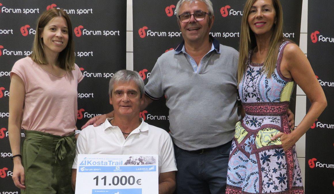 La Kosta Trail recauda 11.000 euros a favor de GaituzSport y el deporte inclusivo