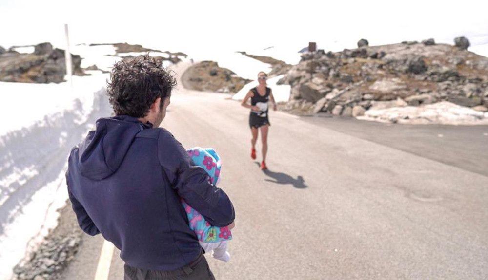 Emilie Fosberg, el trail running y la maternidad