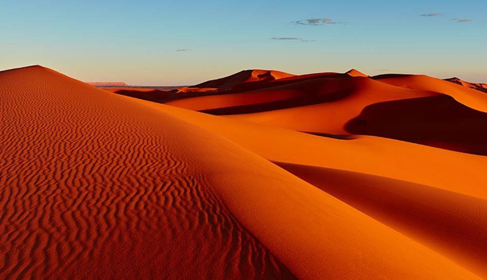 Con la mirada ya en el desierto