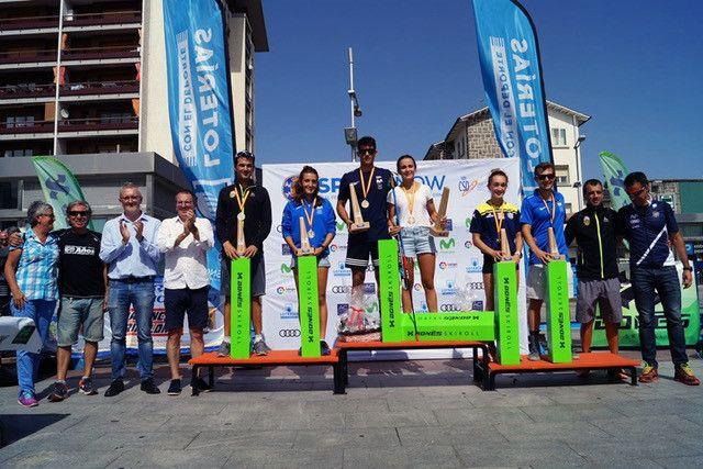 Marta Cester y Jaume Pueyo, Campeones de España de Rollerski