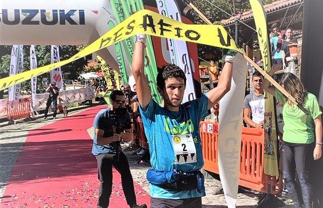 Manuel Merillas bate el récord del Desafío Cainejo