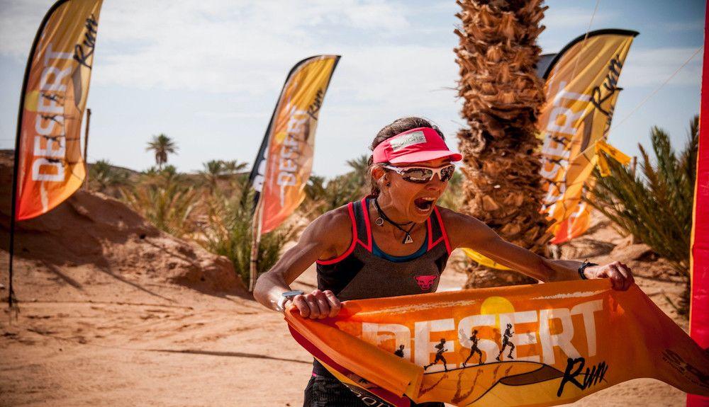 Anna Comet hace suya la Desert Run