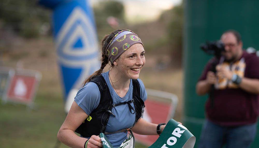 Megan Wilson acaricia la gloria enEurafrica Trail tras ganar la tercera etapa