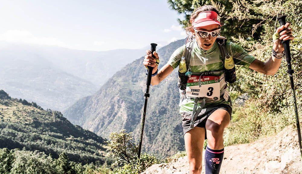 Anna Comet y Suman Kukung imparables en la Everest Trail Race