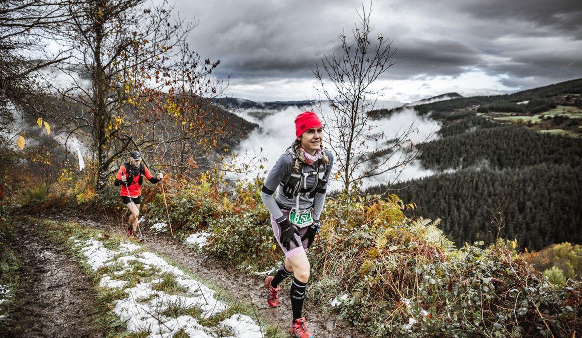 La nieve y el frío, protagonistas en la edición más dura del Trail Tierras Pésicas