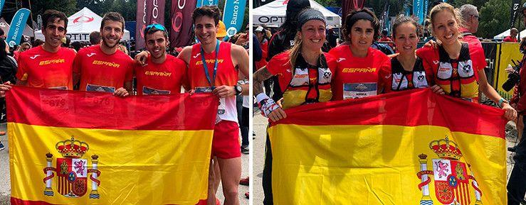 España, campeona del mundo de carreras por montaña