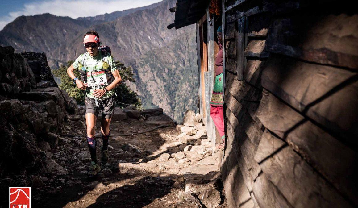 Anna Comet, a un paso de llevarse la Everest Trail Race