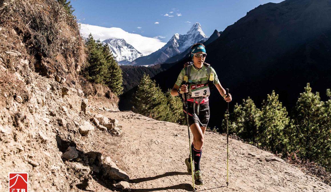 Anna Comet gana su tercera Everest Trail Race