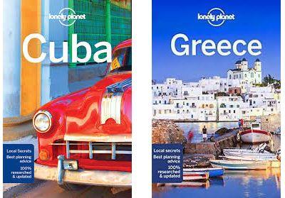 Guías Lonely Planet Grecia y Cuba