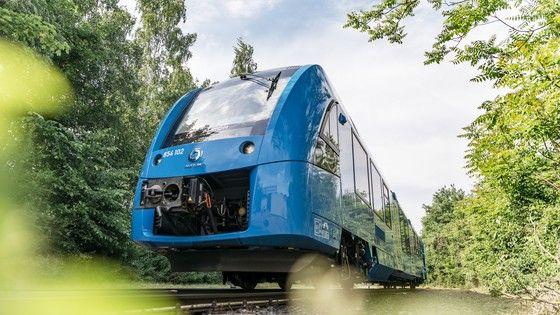 tren coradia de tecnología de hidrógeno en Alemania