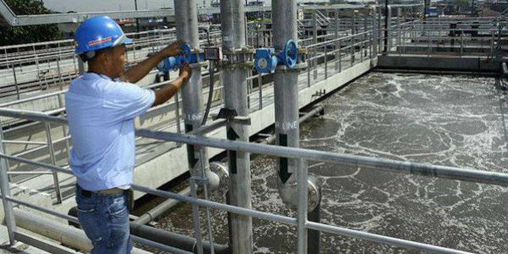 Depuradora de aguas residuales para consumo en Namibia