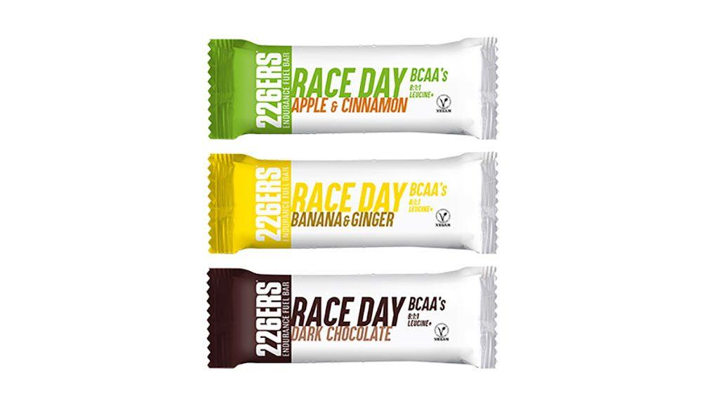 226ers lanza Race Day, la barrita para las competiciones
