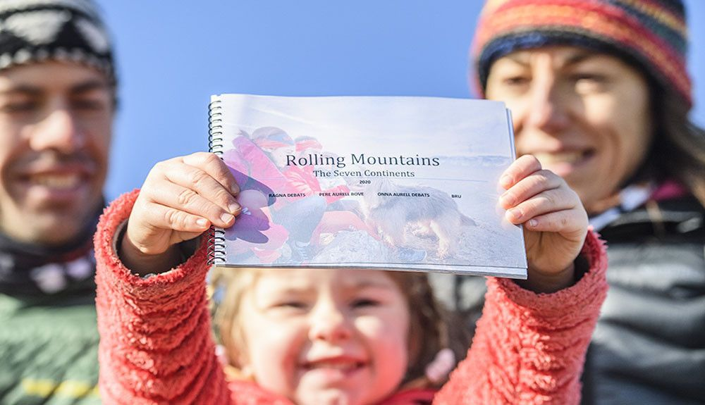 Primer episodio de Rolling Mountains, el viaje por el mundo de Ragna Debats y Pere Aurell