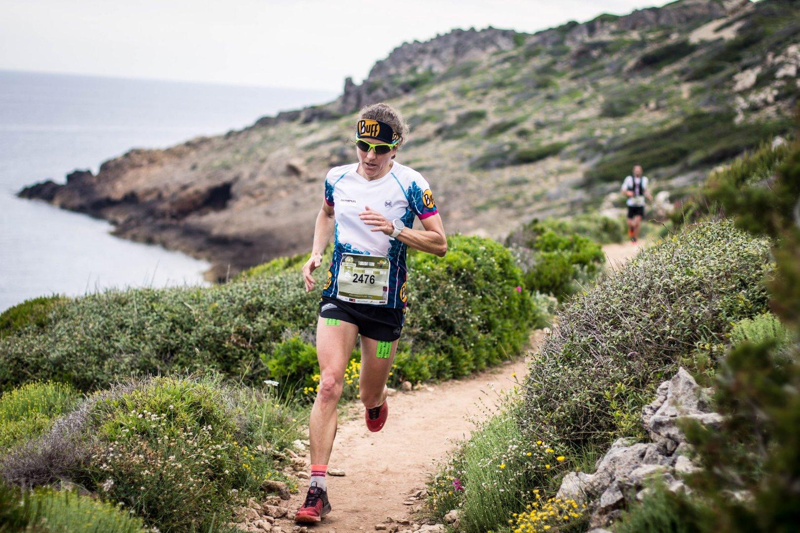 Victoria ex aequo en la Compressport Trail Menorca