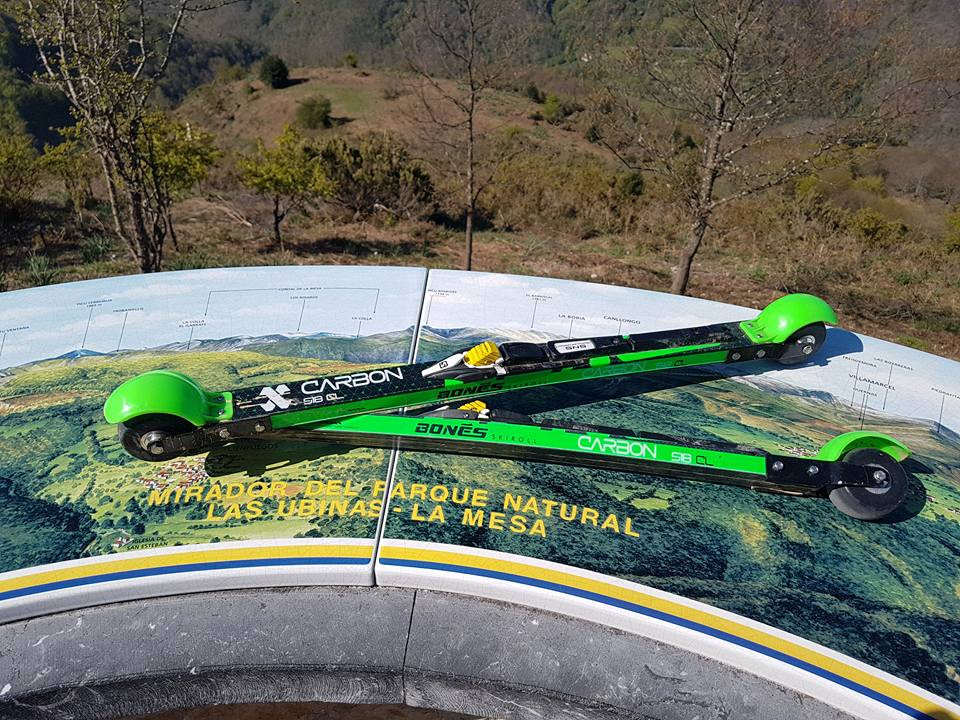 Marcos Cousido encadena los 5 gigantes asturianos en rollerski