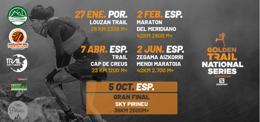 Las Golden Trail National Series llegan a España