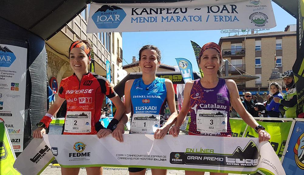 Oier Ariznavarreta y Maite Etxerrazeta vencedores en Kanpezu Ioar 2019