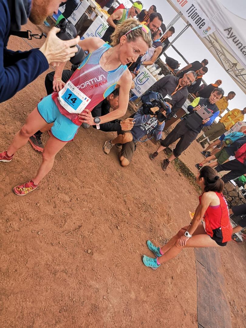 Jessica Pardin gana el Kilómetro Vertical de Transvulcania
