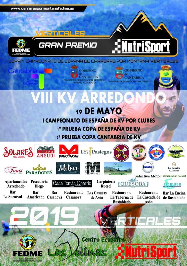 Llega el Campeonato de España de Kilómetro Vertical Clubes en Arredondo