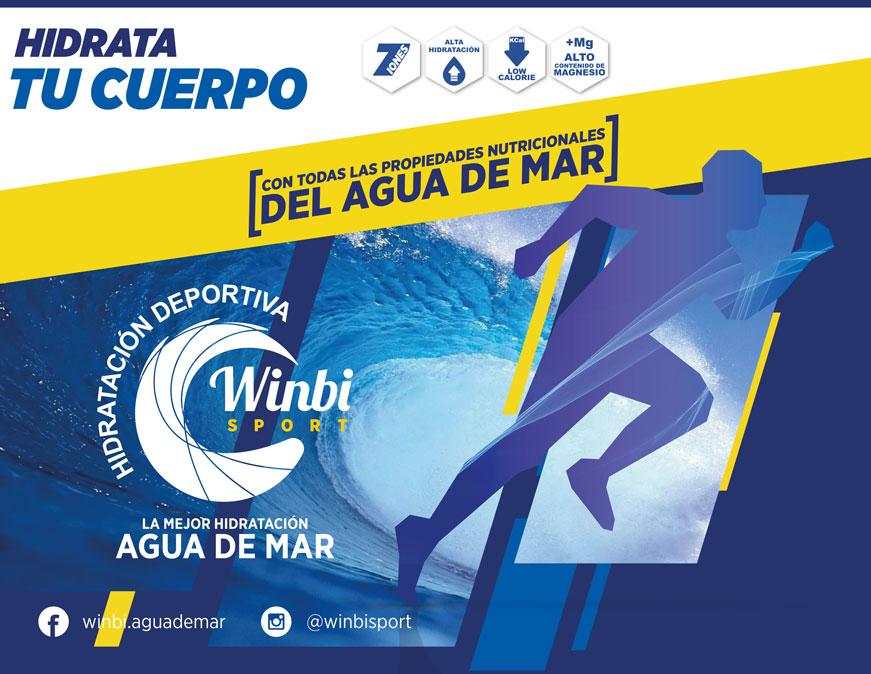 La magia del agua marina: probamos las bebidas deportivas Winbi Sports