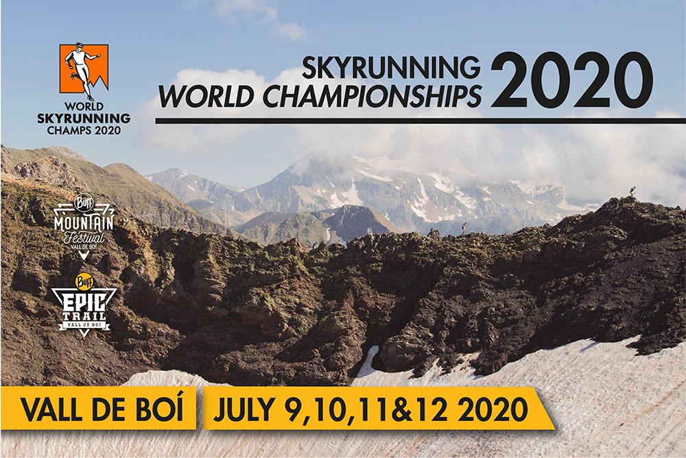 Los Campeonatos del Mundo de Skyrunning de 2020 de nuevo en Boí