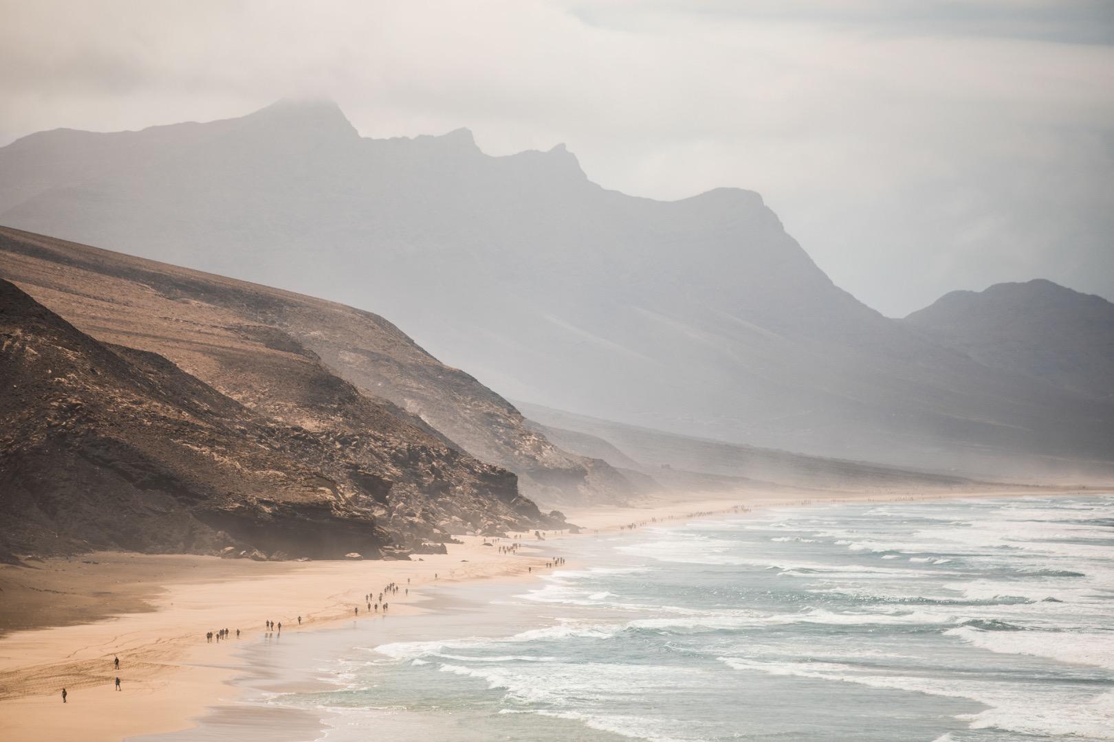 Crónica Etapa 1 Half Marathon des Sables Fuerteventura 2019